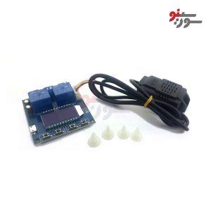 ماژول-کنترل-دما-و-رطوبت-دیجیتال-با-نمایشگر-LCD-XY-TR01-THERMOSTAT-Module