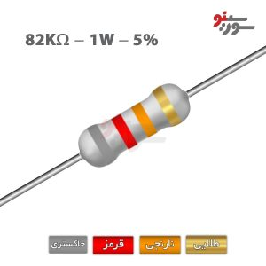 82Kohm-1W Resistor-مقاومت 1وات