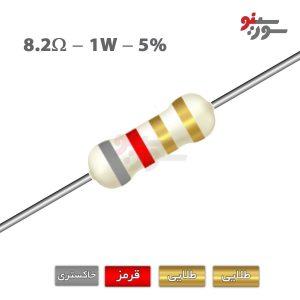 8.2ohm-1W Resistor-مقاومت 1وات