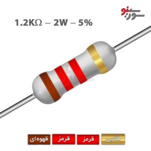 1.2Kohm-2W Resistor-مقاومت 2وات