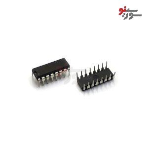 HCF4042BE IC dip 16 pin - آی سی 16 پین