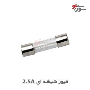 Glass Fuse 2.5A 250V-فیوز شیشه ای
