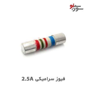 Ceramic Fuse 2.5A- فیوز سرامیکی