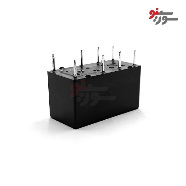 رله 12 ولت دو کنتاکت 8 پایه -مخابراتی-HJQ-15F-S-Z Relayرله 24 ولت تک کنتاکت 5 پایه-رله تی-HJR 1-2C L-12V Relay