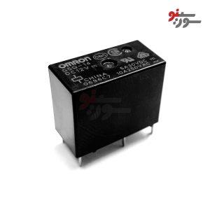 رله 12 ولت تک کنتاکت 5 پایه -G5Q-14-12VDC Relay
