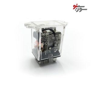 رله 24 ولت دو کنتاکت 8 پایه ایزومی-شیشه ای-SCL-DPDT-C1 Relay