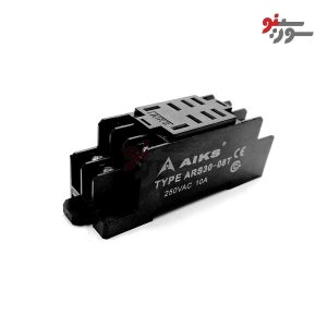 سوکت رله ریلی پایه ایزومی - ARS30-08T Socket Relay