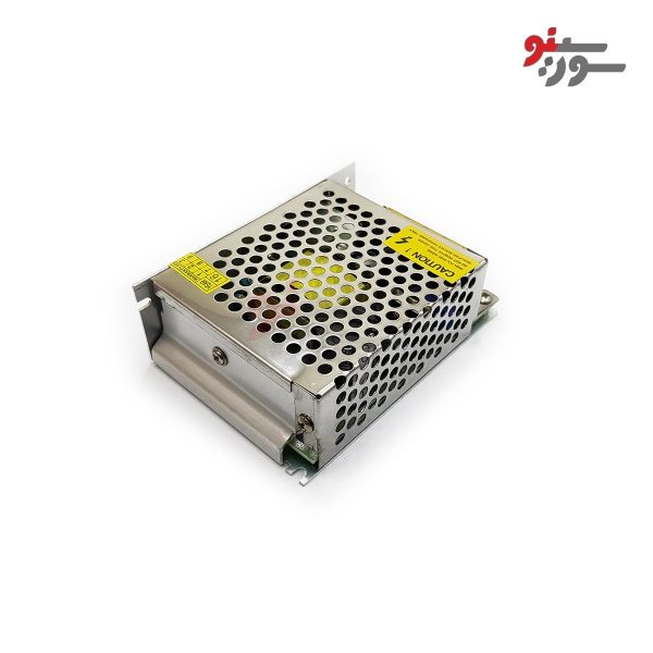 Switching Power Supply-منبع تغذیه 12V-5A کیس فلزی