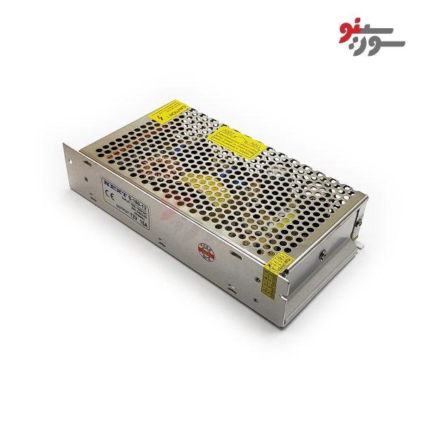 Switching Power Supply-منبع تغذیه 12V-15A کیس فلزی