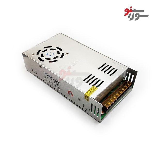 Switching Power Supply-منبع تغذیه 12V-30A کیس فلزی فن دار