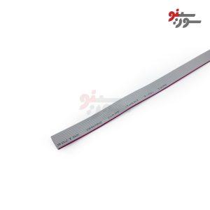 کابل فلت 10 رشته -بیست سانتی متر-Flat Cable