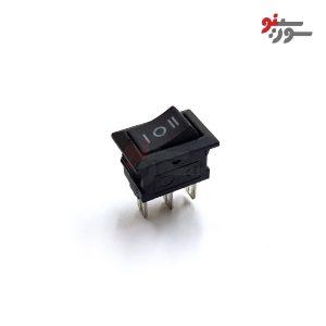 Rocker Switch-کلید راکر کوچک 3 حالته 3 پین-وسط خاموش