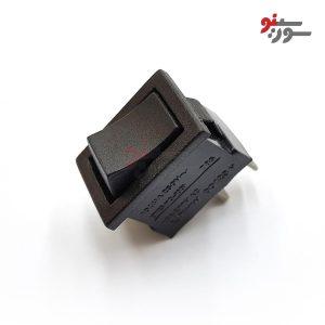 Rocker Switch-کلید راکر متوسط شستی 2 پین-استارتی