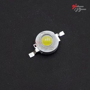 Power LED سفید چیپ 45mil زنردار-پاور LED