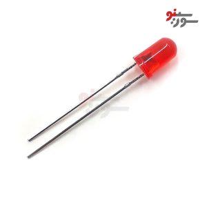 LED قرمز 5mm مات