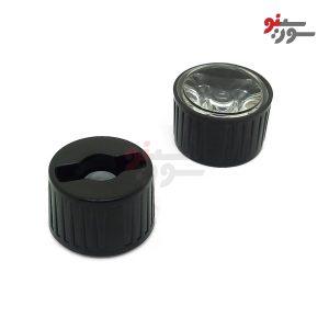 لنز Power LED همراه با هولدر 60 درجه 20mm