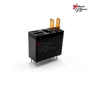 رله 12 ولت تک کنتاکت 4 پایه شاخک دار-HF62F-012-1H Relay